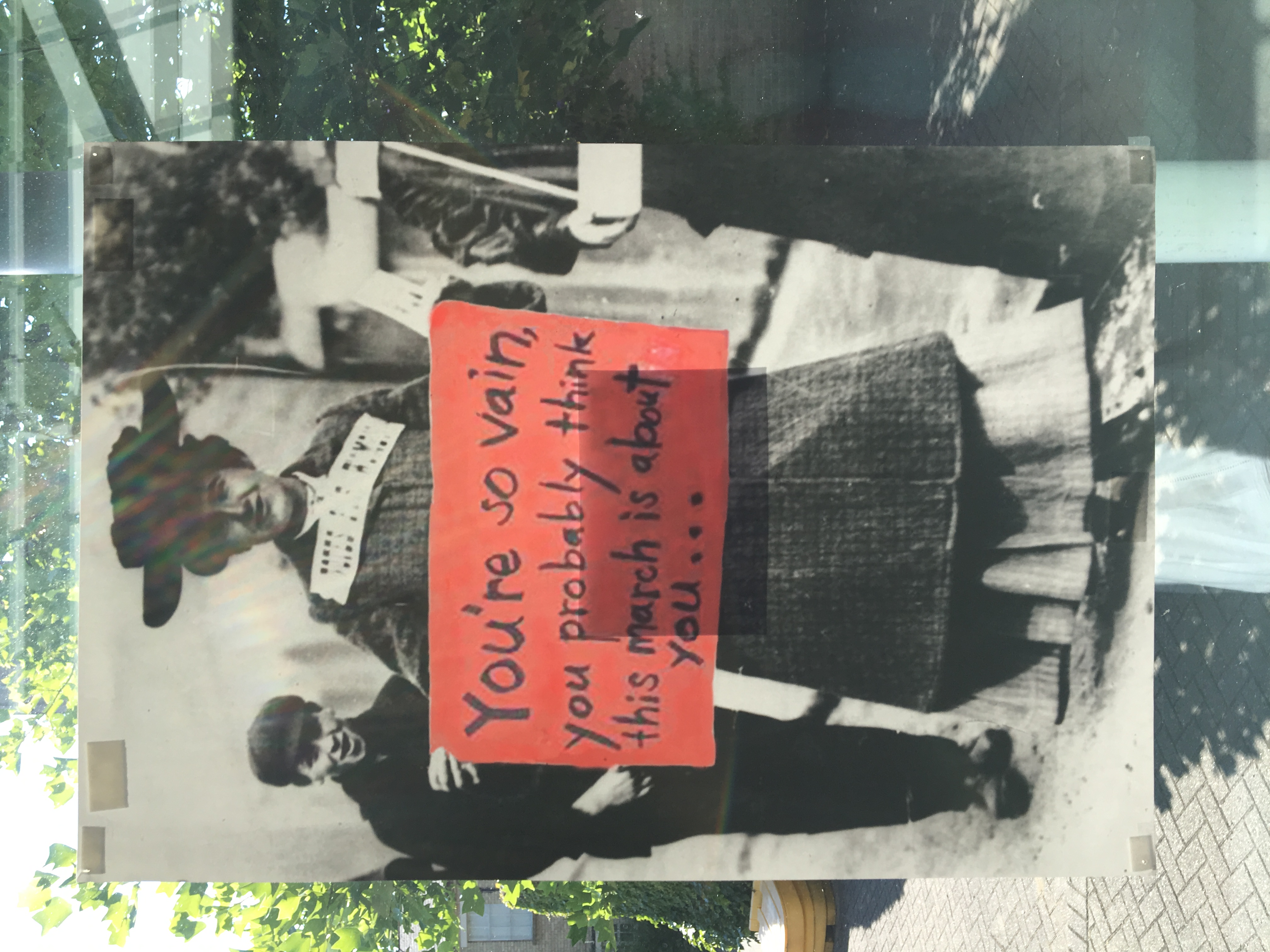 58e. Suffragette Marches, Felicity Beaumont, 40.5 x 59 x 0.1, £ offers