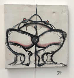 39. Untitled, Billy Jean Croll, 30 x 30 x 2, £ offers