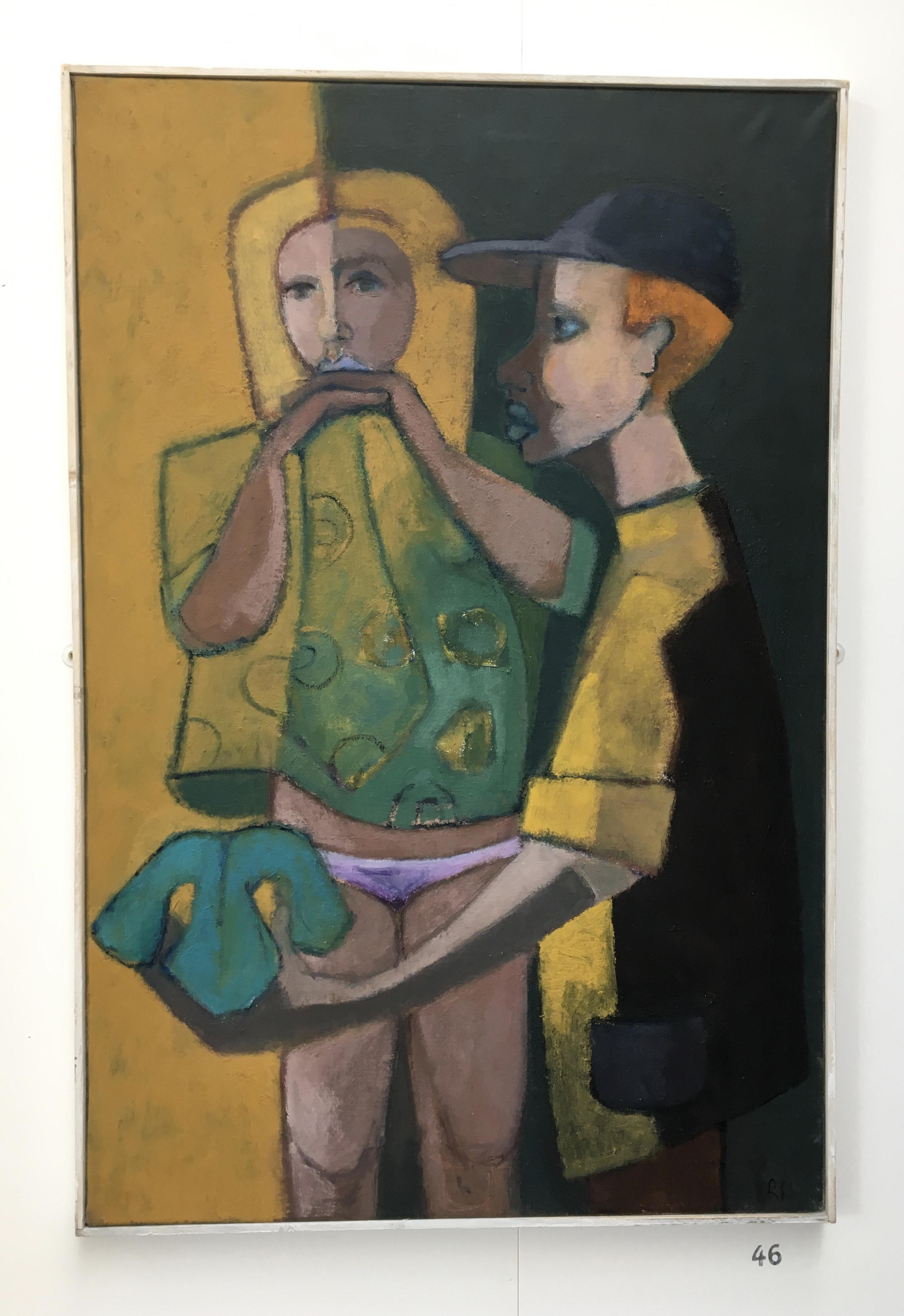 46. Temptation, Robin Warnes, 62.5 x 93 x 3, £ offers