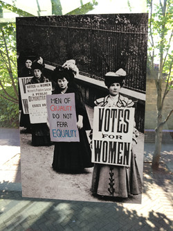 58b. Suffragette Marches, Felicity Beaumont, 40.5 x 59 x 0.1, £ offers