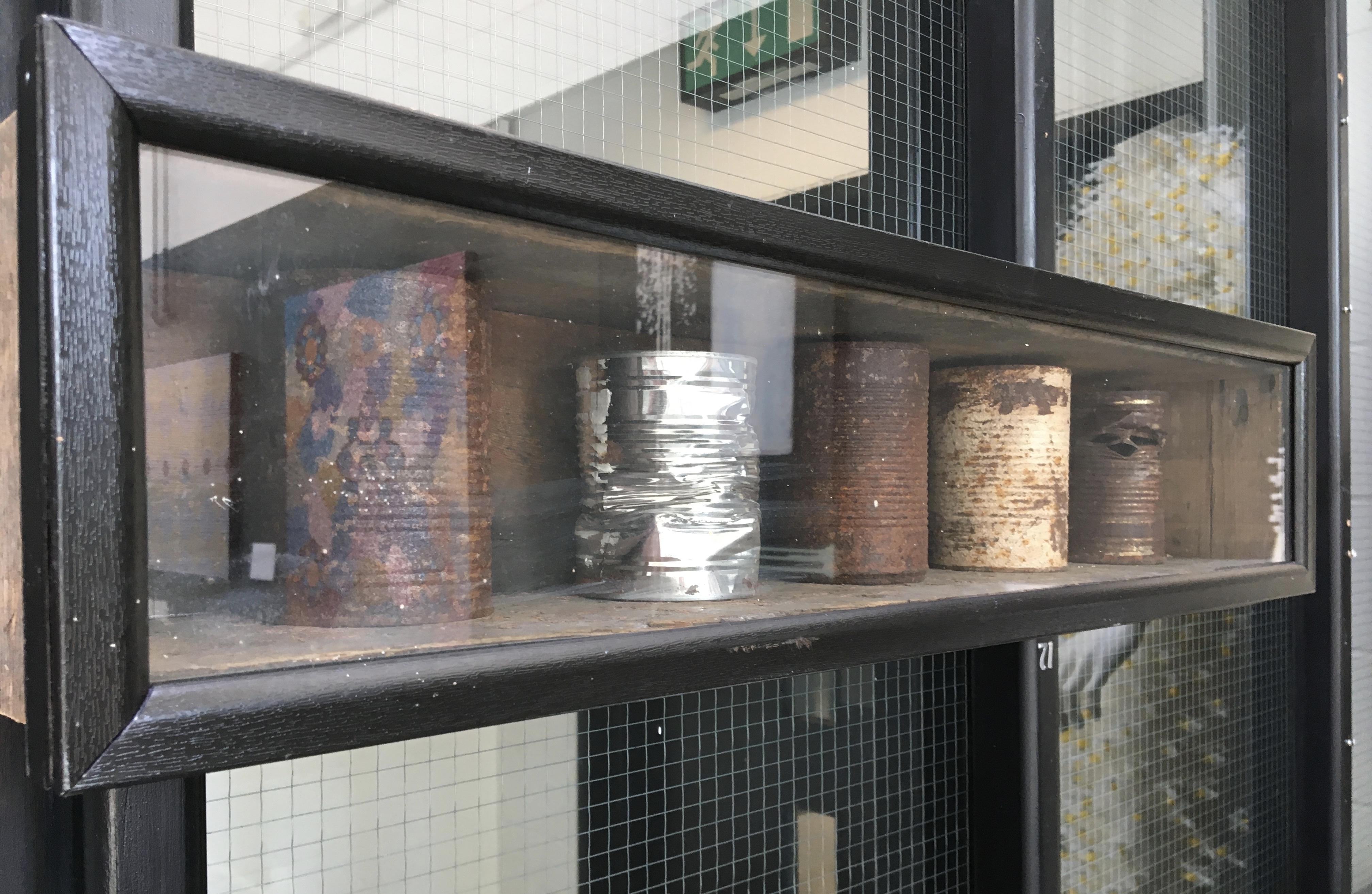 71. Tin Can Theory, Alexander Osbourne, 73 x 17 x 15, £150.