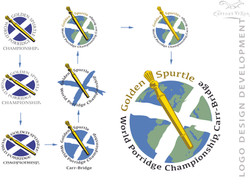 Golden Spurtle logo development