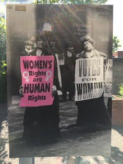 58. Suffragette Marches, Felicity Beaumont, 40.5 x 59 x 0.1, £ offers