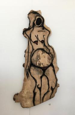 41. Untitled, Billy Jean Croll, 46 x 101 x 4, £ offers