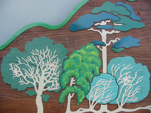 Detail from Woodland Trust Signs.