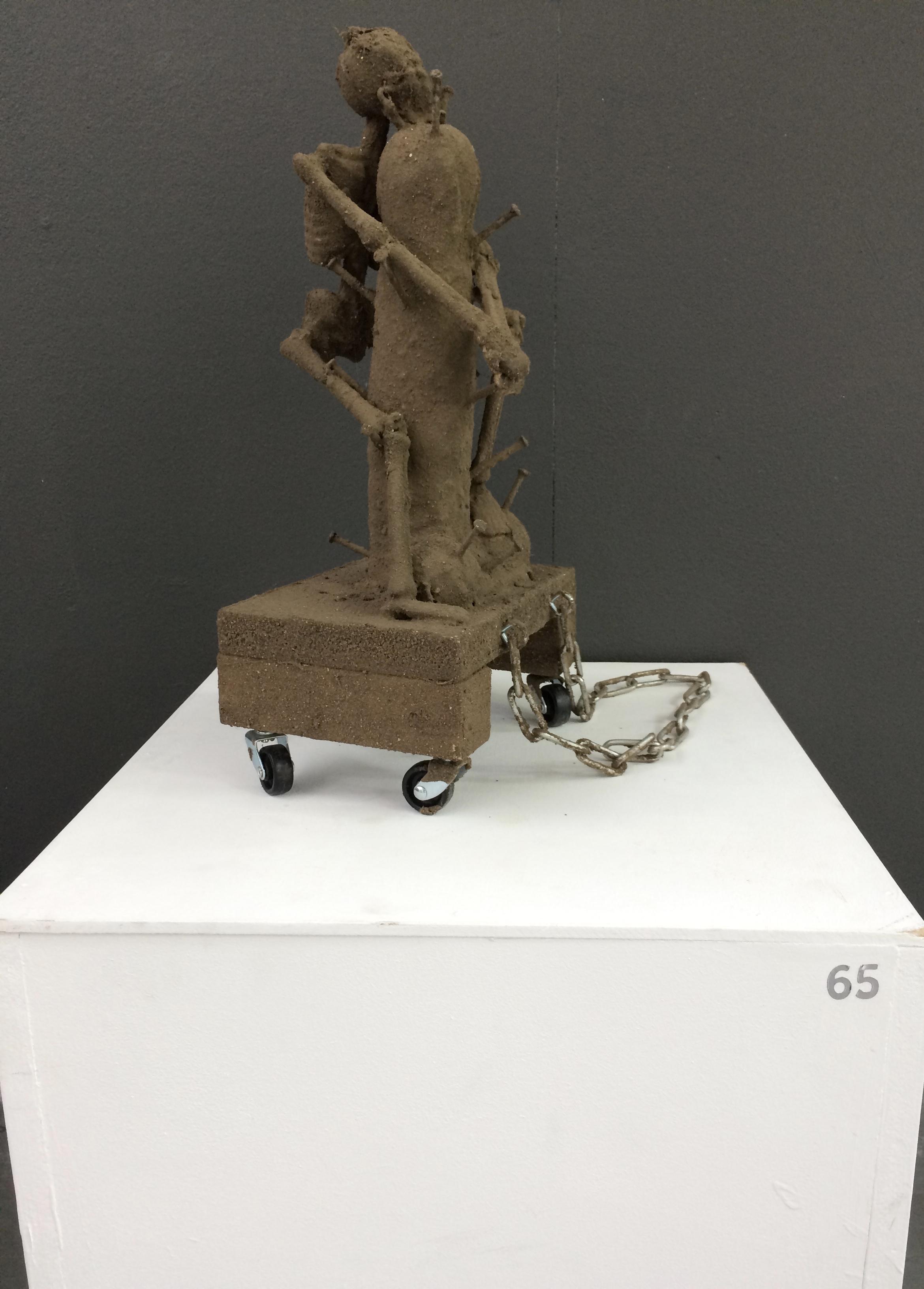 65. Pain O'Cockolatte, David Brown, 34 x 44 x 30cm, £ offers