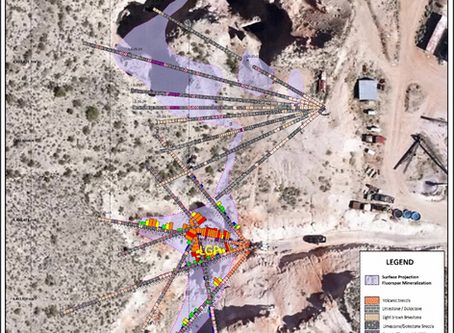 Ares Announces Completion of Successful Delineation Drill Program at the Lost Sheep Mine
