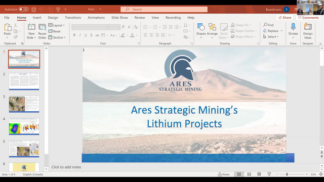 Ares Strategic Mining's Lithium Projects