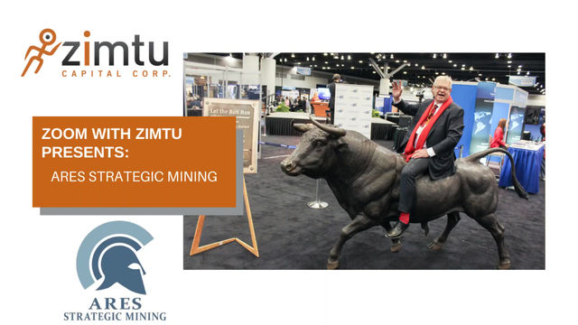'Zoom with Zimtu' investor presentation - Ares Strategic Mining.