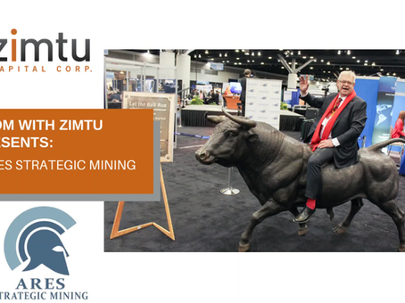 'Zoom with Zimtu' investor presentation - Ares Strategic Mining.