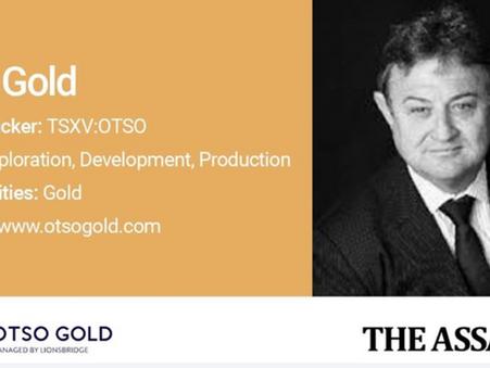 The Assay TV: Brian Wesson, President & CEO, Otso Gold