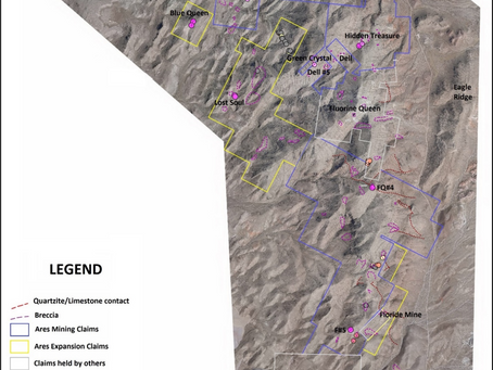 Ares Strategic Mining Inc. Commences 2nd Mine Site Planning