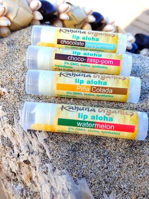 Lip Aloha All 4 Flavors