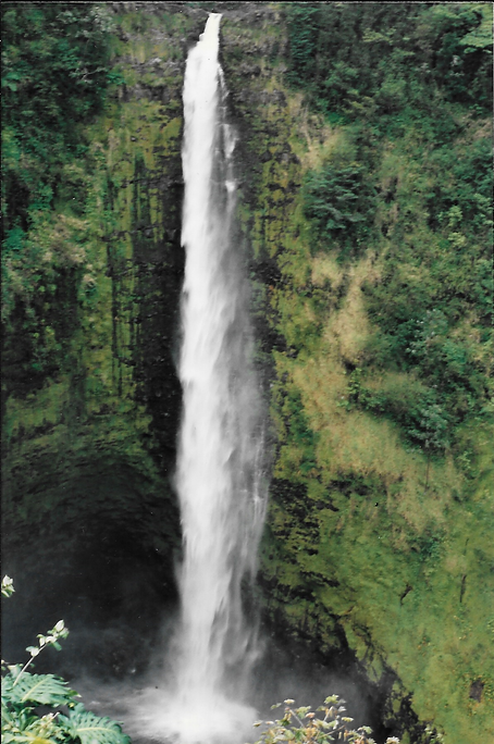 Pure Natural Ingregients Mother Nature Akaka Falls Big Island Hawaii Waterfall