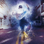 Hip Hop Dancer on Street