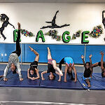 Tumbling Dancer doing Acrobatics