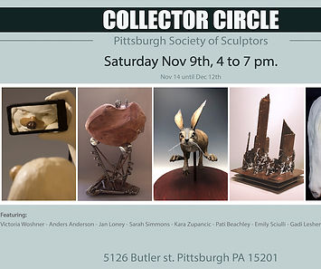 Collector Circle Christine Frechard Gallery Exhibit