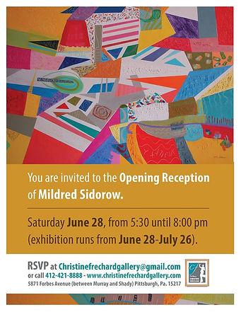 Mildred Sidorow Exhibit