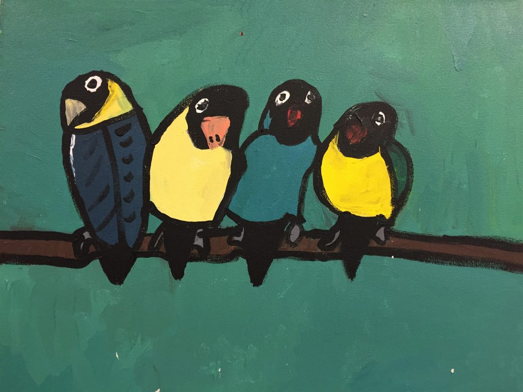 Stacey-Mania-Parrots-ac-can-16x20-2-1-10