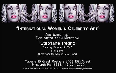 International Women's Celebrity Art