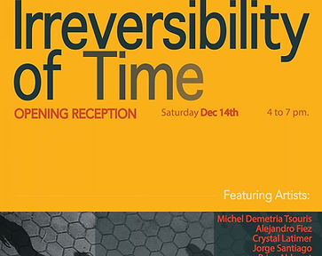 Irreversibility of Time Christine Frechard Gallery
