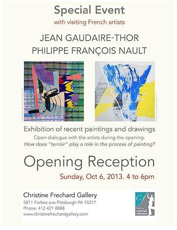 Jean Gaudaire-Thor & Philippe François Nault