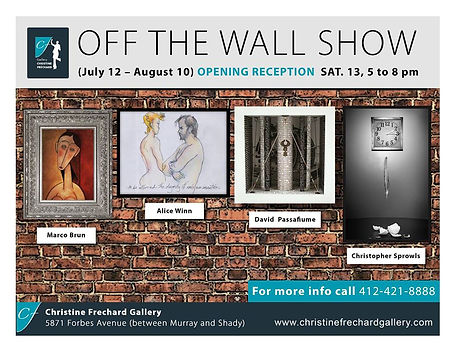 Off The Wall Exhibit