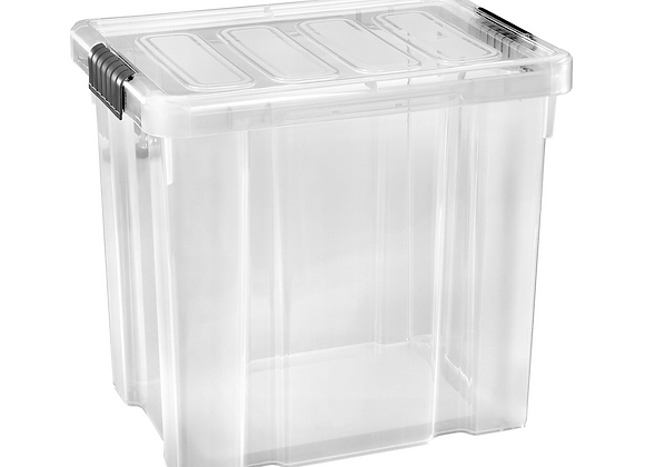 Box s víkem Tarrington House 28L transparentní 1ks