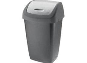 Odpadkový koš Tarrington House Swing 50L šedý 1ks