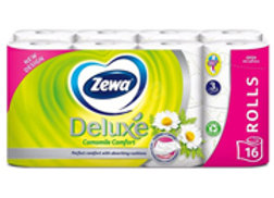 TP ZEWA DELUXE CAMOMILE 16 ROLÍ