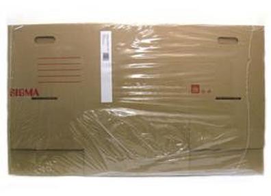 Krabice Sigma s odklápěcím víkem L 42x32,5x31cm 2ks