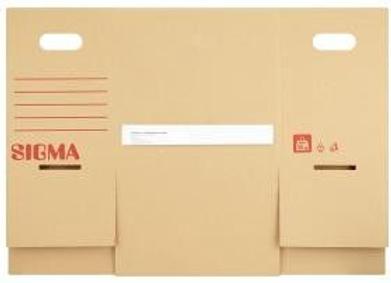 Krabice SIgma s odklápěcím víkem M 30x21x31cm 2ks