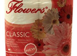TOALETNÍ PAPÍR FLOWERS CLASSIC 64 ROLÍ
