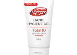 Lifebuoy Hand Hygiene Gel Total 10 1x50ml