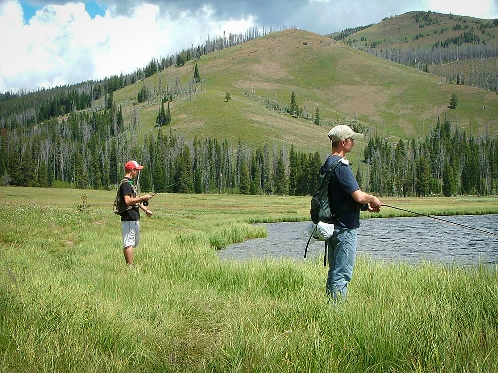 Cascade Lake, Fly-Fishing