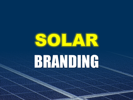 SOLAR Energy: Top 3 BRANDING Strategies