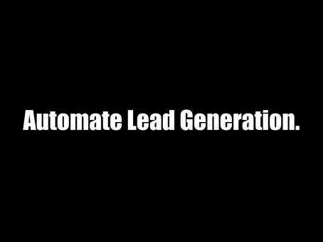 Automate Lead Generation. Grow Revenue.