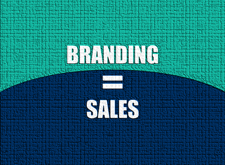 BRANDING to Double or Triple SALES.