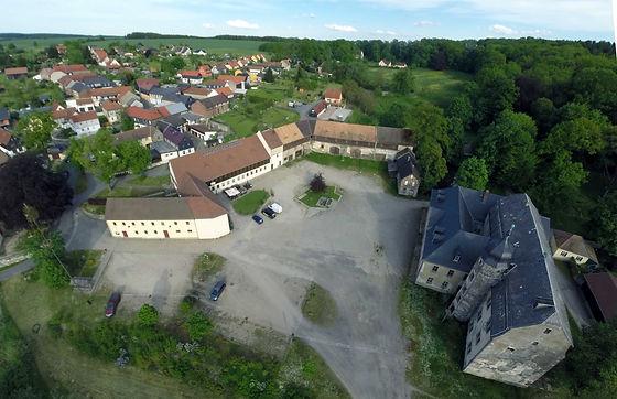 Das Rittergut in Knau