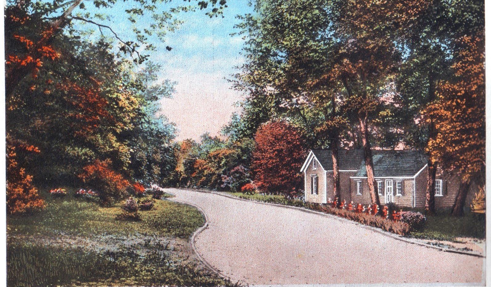 Nail House Postcard Image