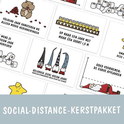 Social-distance-kerstpakket