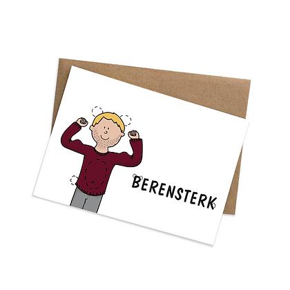 Berensterk - wenskaarten