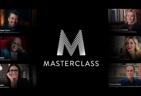 Learn a new skill for date night from the masters on MasterClass.