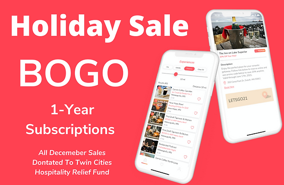 BOGO Annual Subscriptions (iPhone Only)