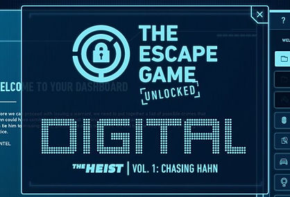 The Escape Games online digital escape room.