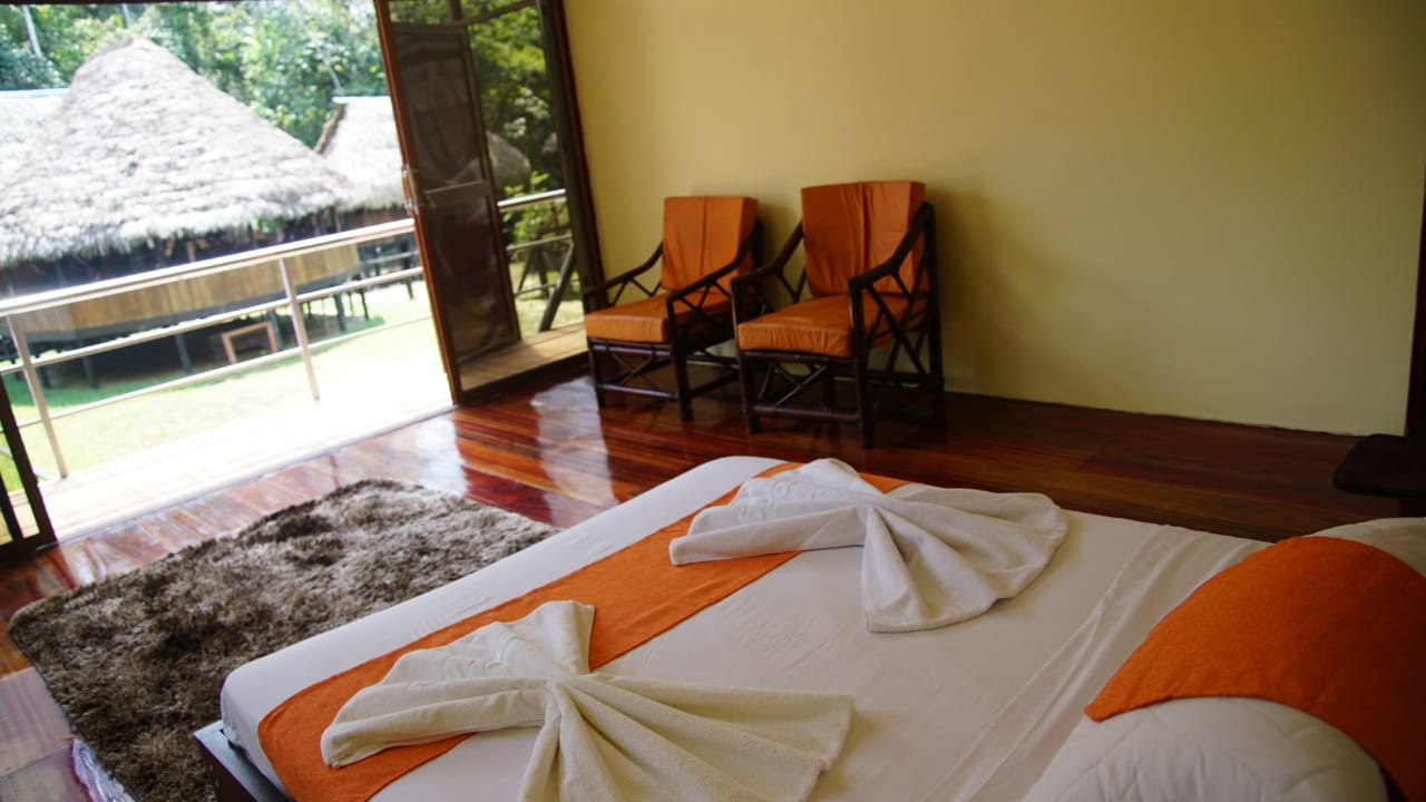Rooms in Cuyabeno - Samona Lodge