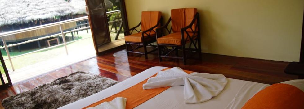 Rooms in Cuyabeno - Samona Lodge