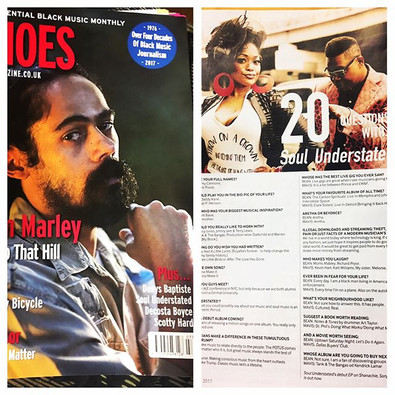 Echoes Magazine Feature