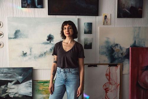 Andrea-Shear-artist-studio-fine-art-pain