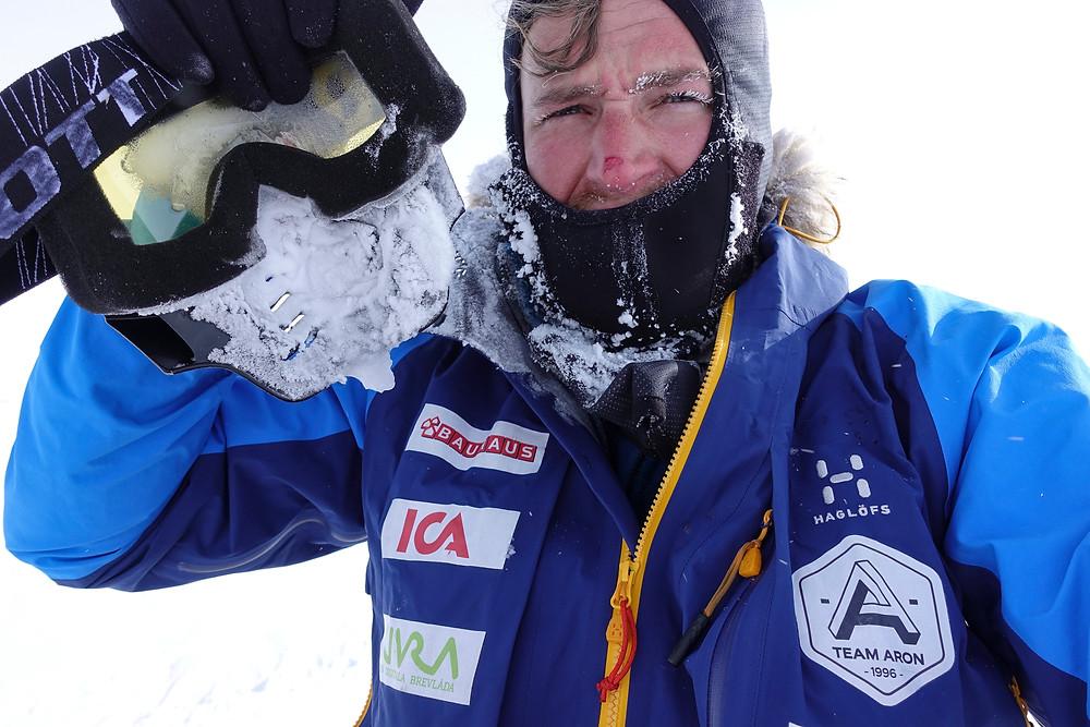 Aron Anderson, Sydpolen 2016